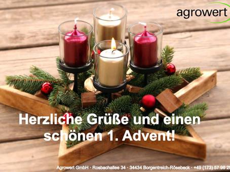 Wir wünschen einen schönen 1. Advent!