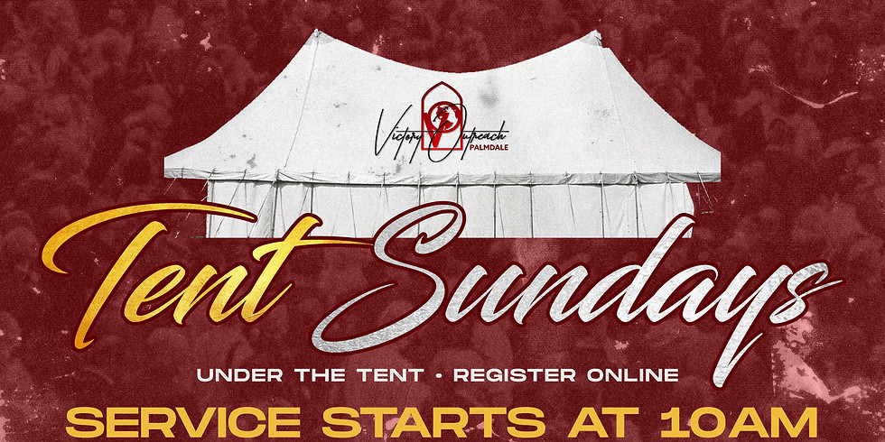 TENT SUNDAY | AUGUST 2nd