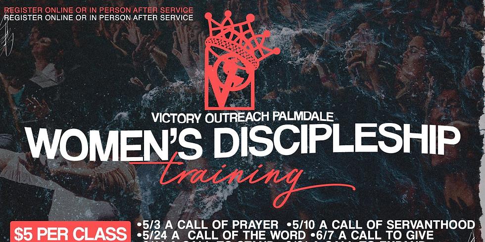 Women's Discipleship Training | June 21st