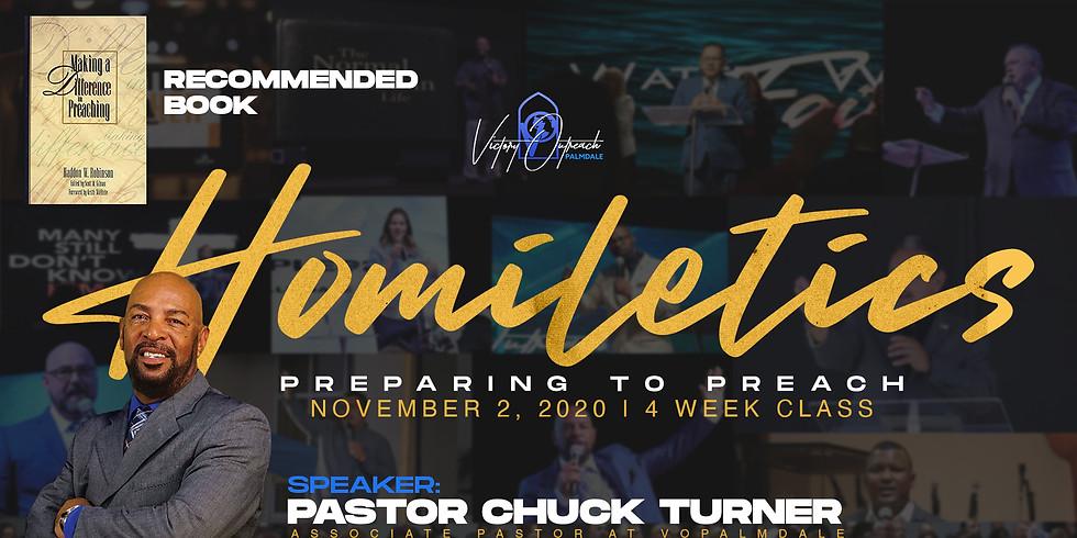 Homiletics | Preparing To Preach