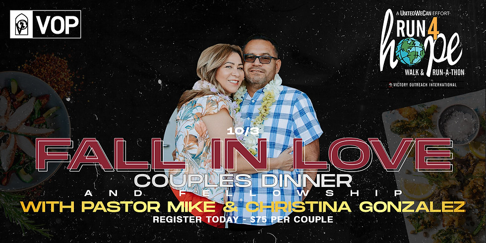 FALL IN LOVE couples dinner