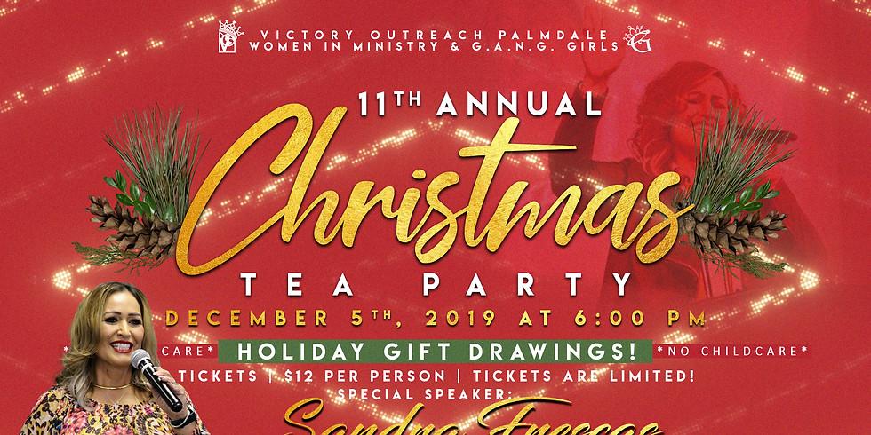 11th Annual Christmas Tea Party
