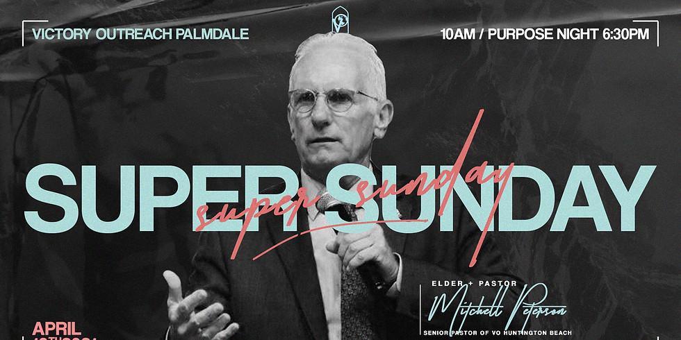 SUNDAY MORNING w/ Elder + Pastor Mitchell Peterson