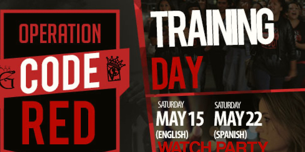Code Red Training Day Watch Party