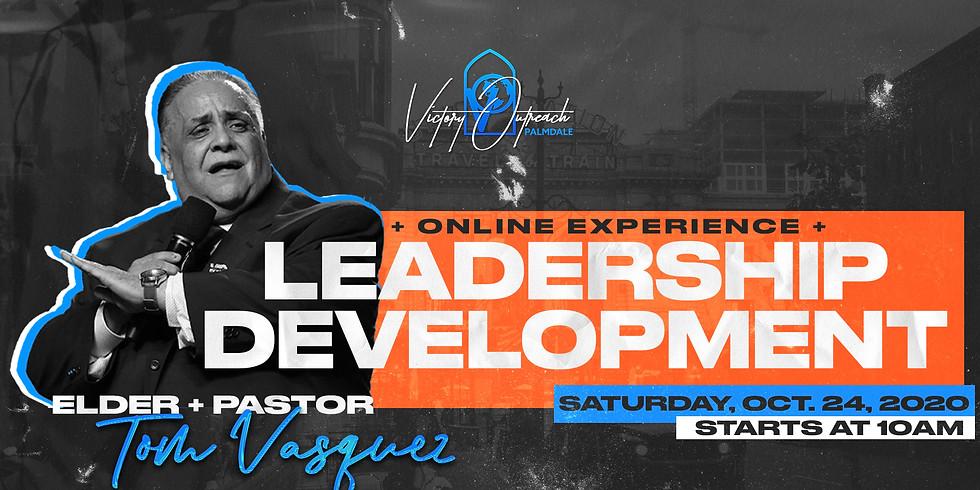 Leadership Development 2020 w/ Elder + Pastor Tom Vasquez