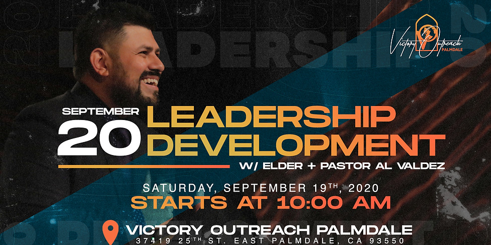 LEADERSHIP DEVELOPMENT w/ Elder + Pastor Al Valdez