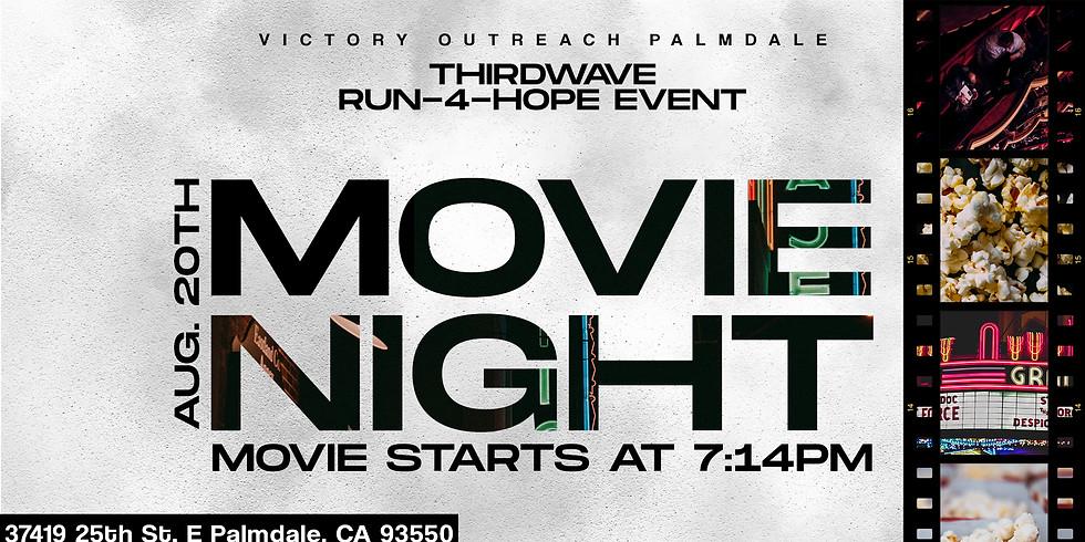 Run-4-Hope Movie Night