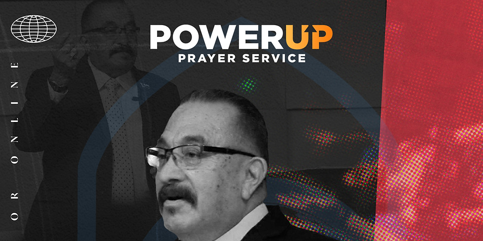 Wednesday Powerup x Pastor Benny Jaques