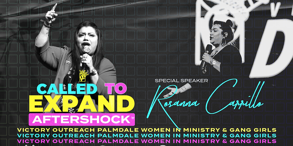 Womens Convention Aftershock x Rosanna Carrillo