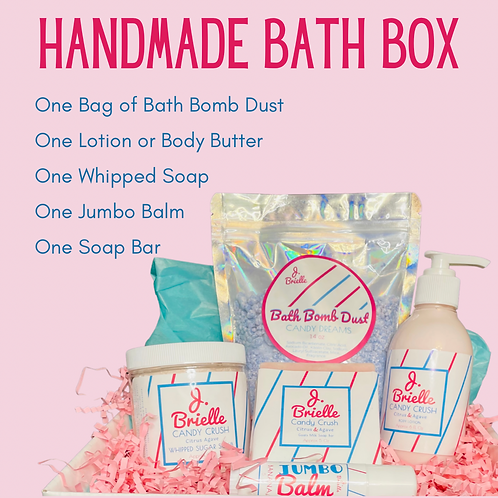 Handmade Bath Box