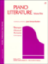 Piano Literature, Volume 1 - Jane Bastie