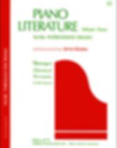 Piano Literature, Volume 3 - Jane Bastie