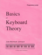 Basics of Keyboard Theory - Preperatory