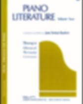 Piano Literature, Volume 2 - Jane Bastie