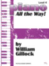 Piano - All the Way - Level 4 - Gillock.