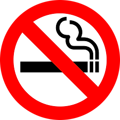 This is no smoking logo picture. When people break the no smoking policies, Renue can get that smell out.