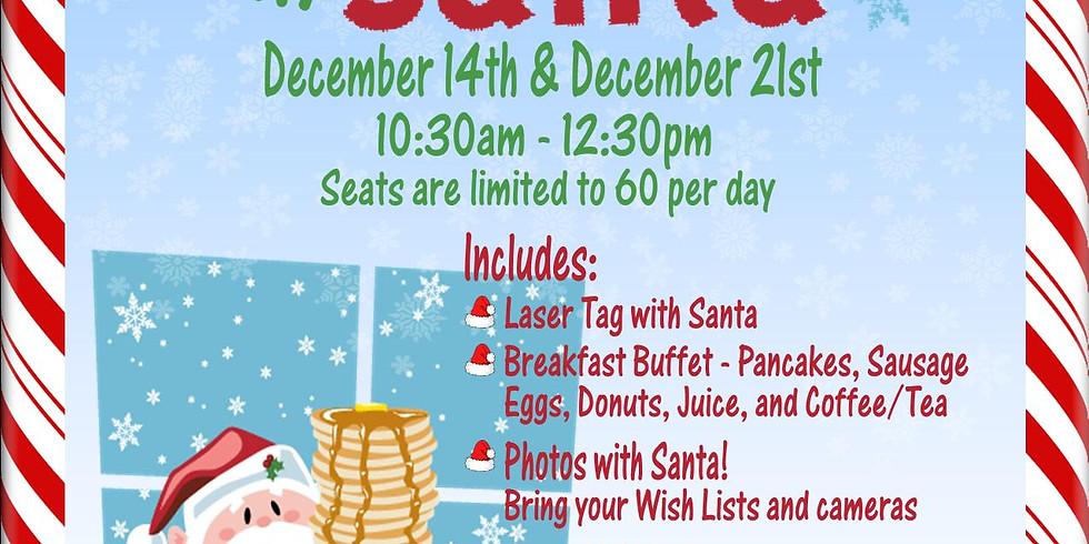 Breakfast with Santa December 14th