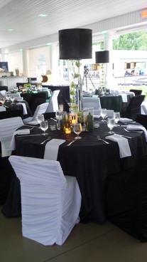 reception set up