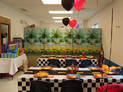 Decorative Party room