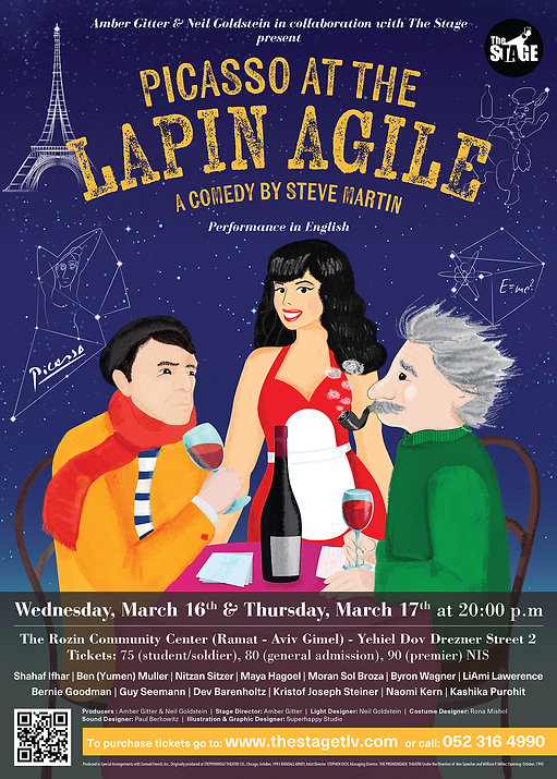 Picasso at the Lapin Agile_Poster_final_