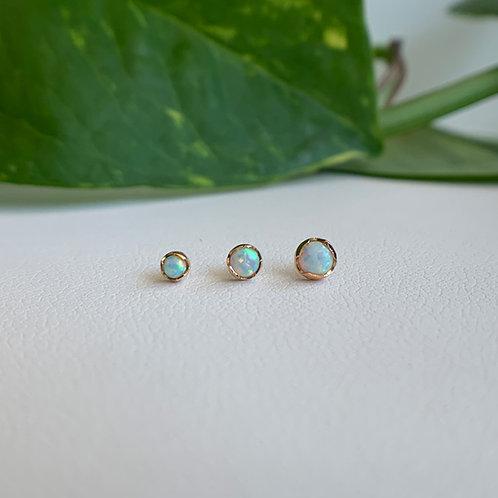 White Opal Prong