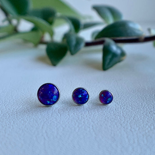 Neometal Purple Opal in Titanium