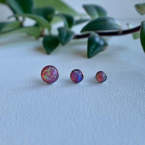 Neometal Pink Opal in Titanium