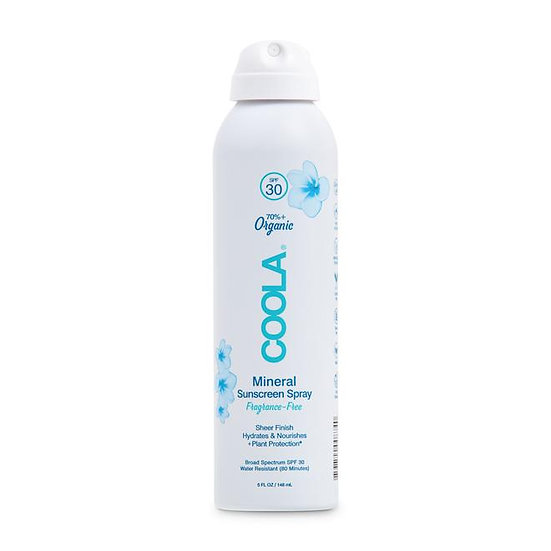 Coola Organic Mineral sunscreen spray