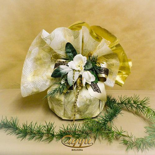 Panettoneartigianale da 1 Kg Collezione Natural Gold & Brown