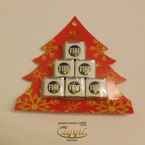 Majani Alberello con 6 cioccolatini Fiat