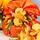 Thumbnail: Colomba artigianale confezionata con tovaglia in taffeta