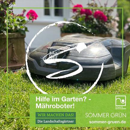 Mähroboter - Sommer Grün GmbH, Sommer Grün GmbH,  Kreis Gütersloh, Gärtner, Gartenlandschaftsbau