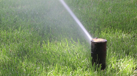 Garden Irrigation Sprinkler watering law