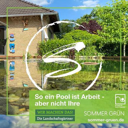 Sommer Grün GmbH, Naturpool, Kreis Gütersloh, Gärtner, Gartenlandschaftsbau