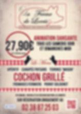 flyer menu ferme de lorris