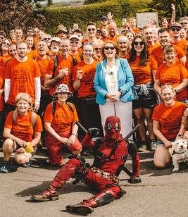 14 mile Sponsored Walk for the East Lancashire Hospice - June 2019