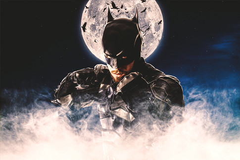 Batman Cosplay Photographer - Graham Curry Graphics - Jack Walsh