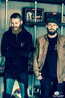 Chris and Josh