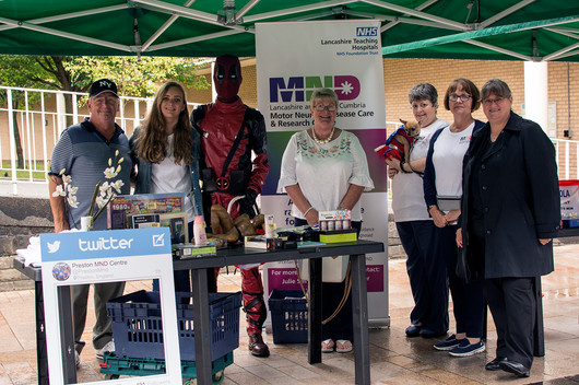 Street Collection for the Lancashire and South Cumbria MND Care & Research Centre - July 2018