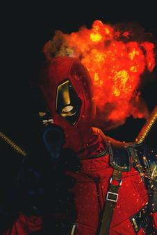 Deadpool Cosplay  Photographer - Robert Duckworth Photoshop edit by - Jack Walsh