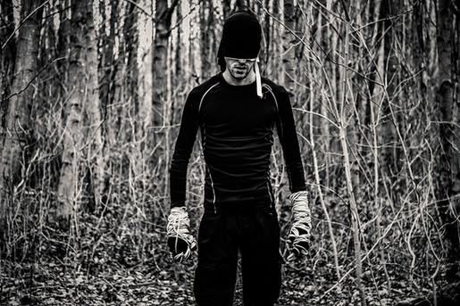 Daredevil Black Suit Photographer - Robert Duckworth