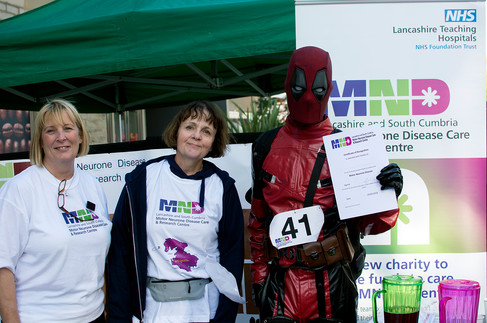 24 mile Sponsored Walk for the Lancashire and South Cumbria MND Care & Research Centre, MND Association - September 2018