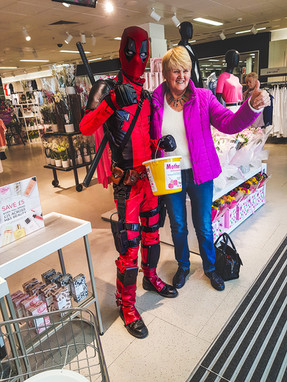 Store Collection for the Pendle Side Hospice - April 2019