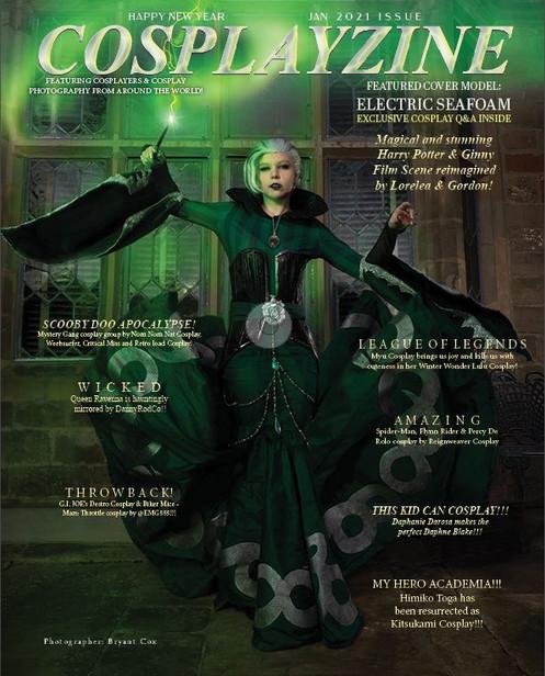 Cosplayzine January 2021