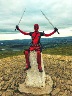 Climbing Pendle Hill for the MND Association - September 2020