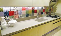 cozinha de mármore