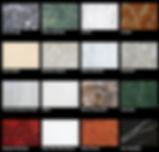 mármores de granitos