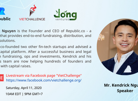 Conversation with Mr. Kendrick Nguyen - Republic and Equity Crowdfunding