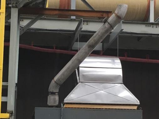 Vale Crushing Plant - HVAC Stack Installation