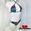 Thumbnail: Tiger Strip Bikini Set
